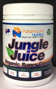 Jungle Juice Organic Super Greens 150g-Visit ParamountNutrition.com.au