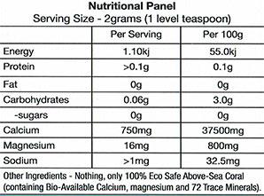coral-label-nutrition
